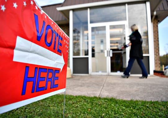 Election Day at Commonwealth Fire Co. #1 in Springettsbury Township, Tuesday, Nov. 5, 2019. Dawn J. Sagert photo