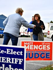 Election Day at the Dover Township Community Building which hosts both Precincts 1 and 2 in Dover Township, Tuesday, Nov. 5, 2019. Dawn J. Sagert photo