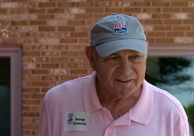 George Tarasovic is seen here in a 2010 file photo at Out Door Country Club during a celebrity golf tournament. Tarasovic and Eddie Khayat were the founders of the tournament, which has raised more than $800,000 over 31 years for York County Special Olympians.