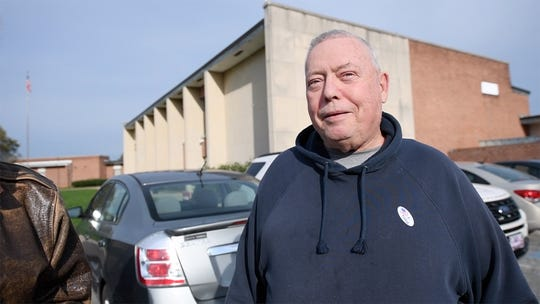 "Mike Boyd, a 68-year-old retired construction worker, said, ""I'd vote for President Trump"" if the election was held right now, after he left the polling site at Goode K-8 School in York city."