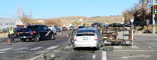 Justin King of Dayton was killed in a Nov. 2 crash in Carson City.