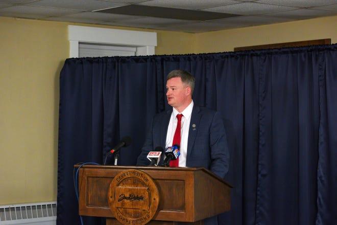 South Dakota attorney general Jason Ravnsborg.