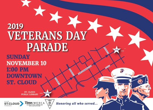 2019 St. Cloud Veterans Day Parade