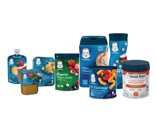Gerber has partnered with international recycling company TerraCycle to recycle their packages.