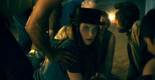 "Rose the Hat (Rebecca Ferguson) leads a traveling band of kid-killing psychic vampires in ""Doctor Sleep."""