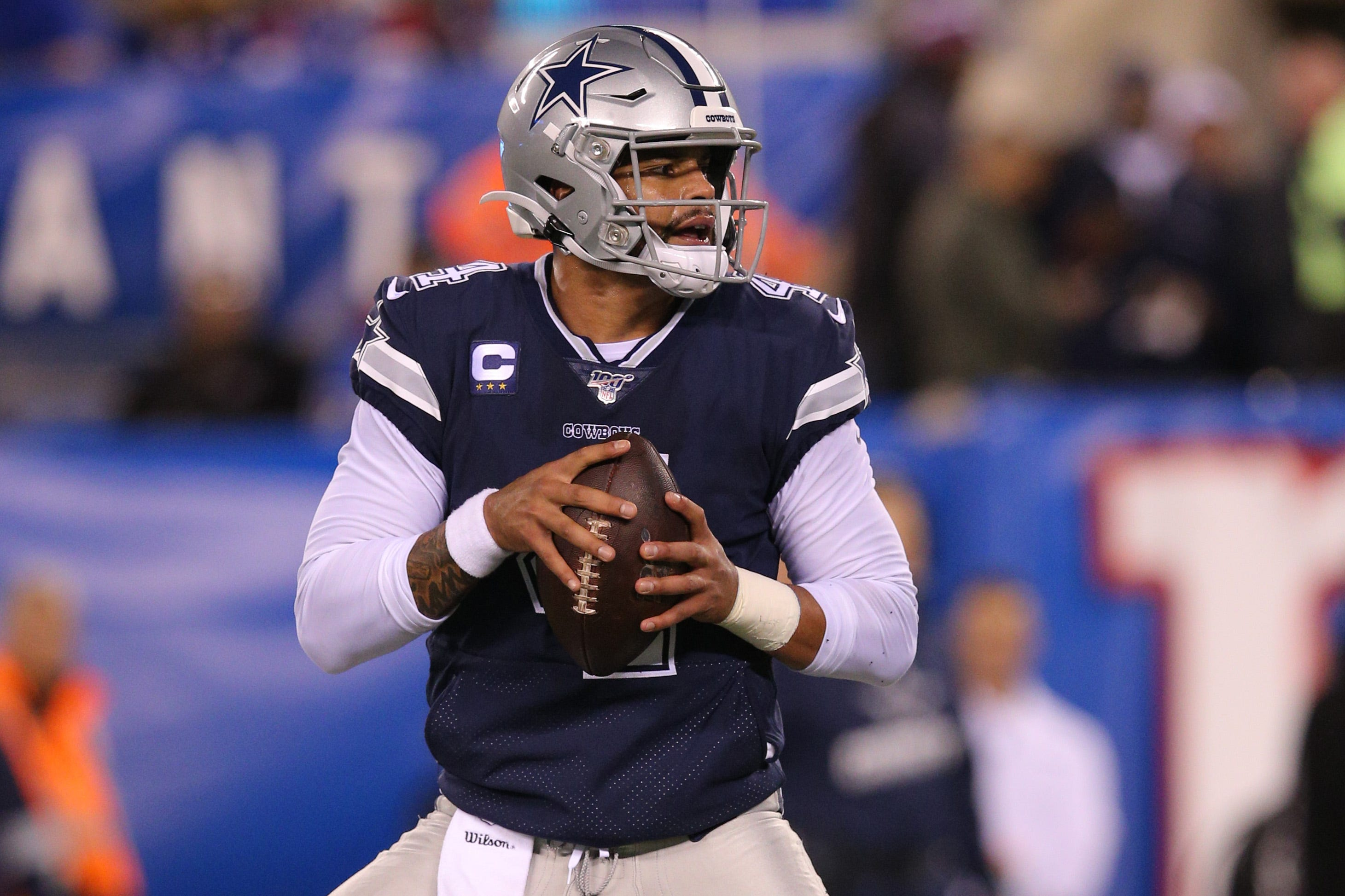 Dallas Cowboys overcome another slow start to top New York Giants on Monday Night Football
