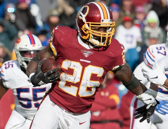 29. Redskins (30): After being virtually ignored first month of season, Adrian Peterson averaging a shade fewer than 100 rushing yards over past four weeks.