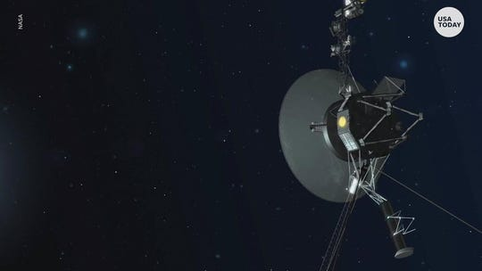 Voyager 2 sends back its first messages from interstellar space