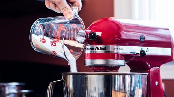 The KitchenAid Artisan 5-Quart Stand Mixer is the best stand mixer you can get.