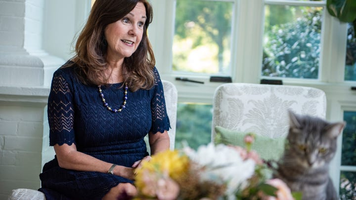 """Second Lady Karen Pence says she's eager to pitch in on the 2020 campaign trail. """"I want to go and do what I can and do my part,"""" she told USA TODAY in the sun room of the vice president's residence."""