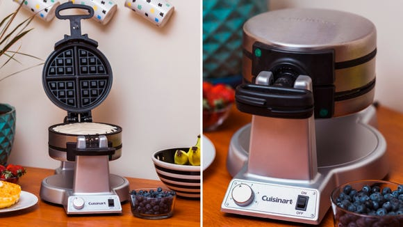 The Cuisinart WAF-F20 Double Belgian Waffle Maker is the best Belgian waffle maker we tested.