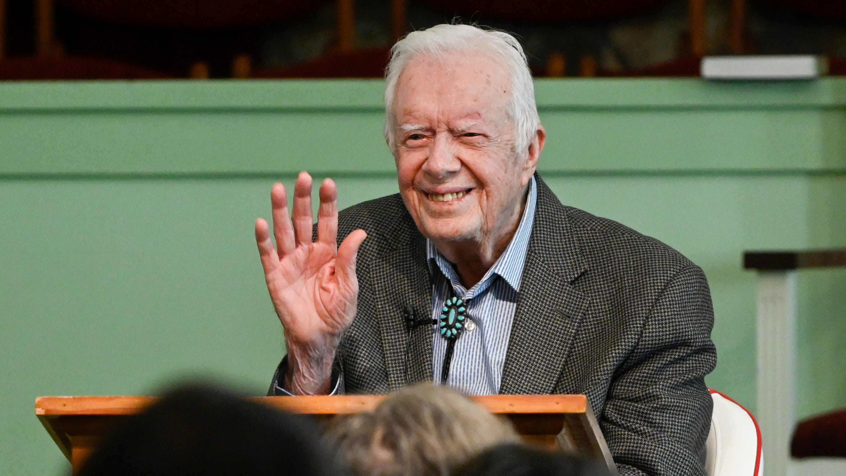 Jimmy Carter 95 Says Faith Makes Him Completely At Ease With Death