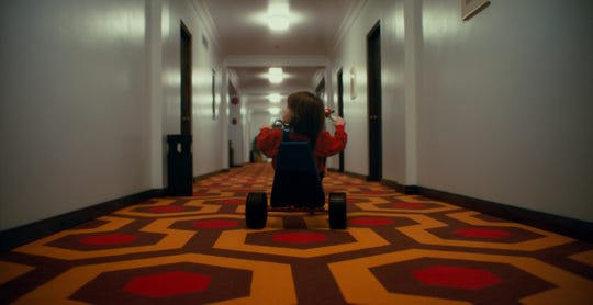 """The Overlook Hotel from """"The Shining"""" was faithfully re-created for """"Doctor Sleep,"""" from the big wheel to the iconic carpeting."""