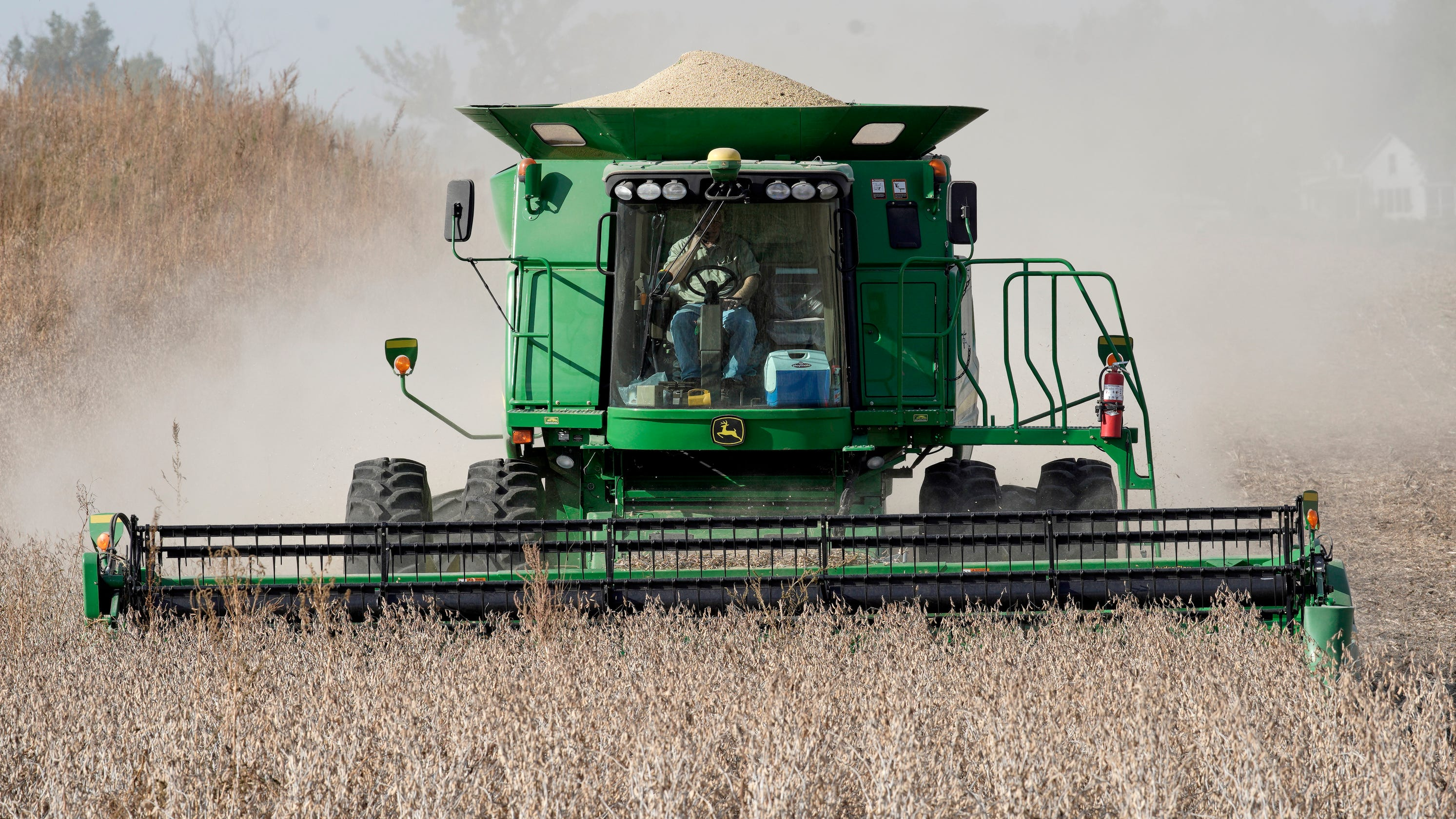 Farmer: I won't vote for Trump again without an end to high tariffs, trade war with China