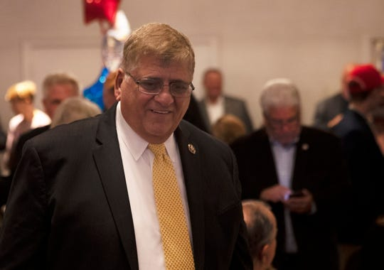 Sheriff Michael Mastronardy was re-elected. The Ocean County Republicans celebrated at the Days Inn in Toms River, NJ on November 5, 2019.