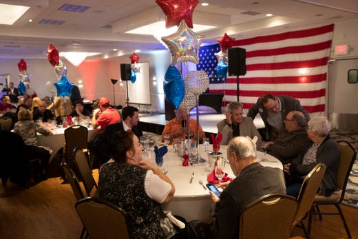 The Ocean County Republicans celebrated at the Day's Inn in Toms River, NJ on November 5, 2019.