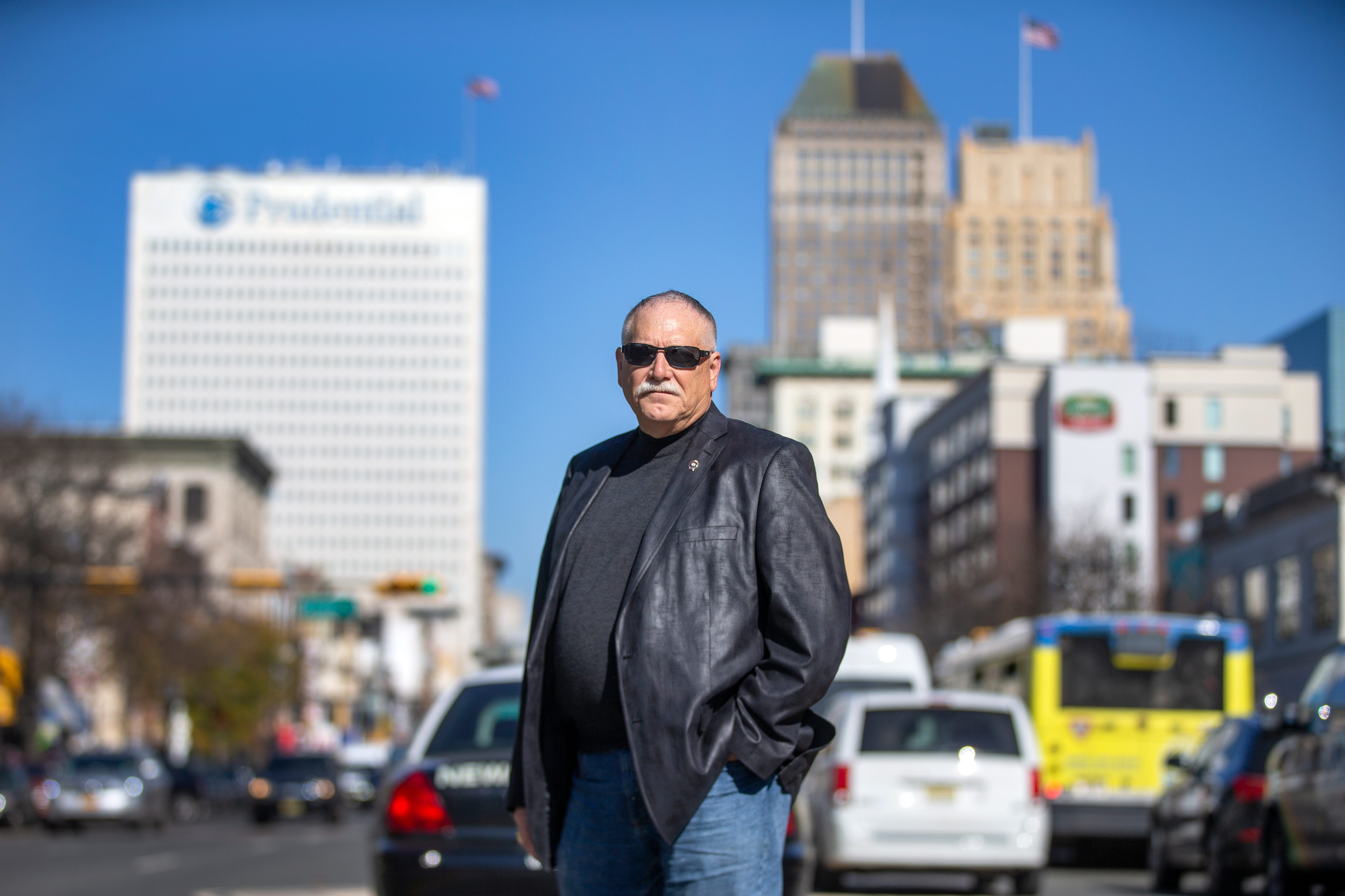 Former Newark Police Captain Barry Colicelli (shown in Newark) saw how crack devastated the impoverished city in the late 1980s and '90s.