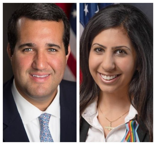 State Reps. Tyler Sirois and Anna Eskamani will be the guests of Civility Brevard's next event on Dec. 3 at 6 p.m.