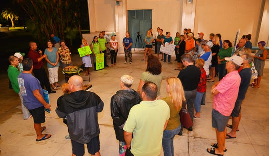 """A """"Save the Turtles"""" rally took place before the Nov. 6 Satellite Beach City Council meeting."""