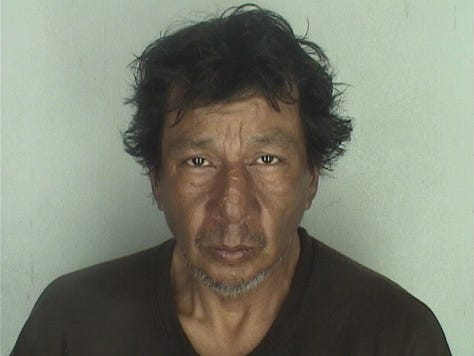 George Encinia, 55, was reported missing by his family, who have not made contact with him since March 2018.