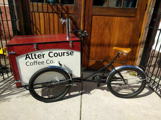 Alter Course is a mobile coffee business that will serve the City of Camden.