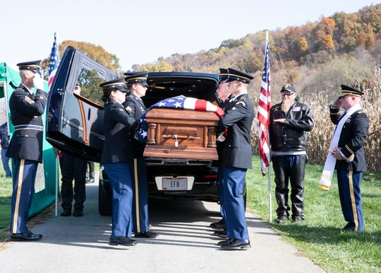 Korean War veteran Robert Bray was finally laid to rest in Bainbridge after being declared deceased in 1953 by the Army on Nov. 6, 2019.