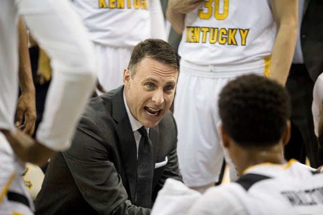 Northern Kentucky University head coach Darrin Horn's team finished second in the  Horizon League last season and is the league's defending tournament champion.