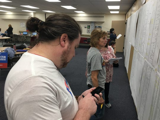 A total of 20 Finneytown volunteers helped out on election night.