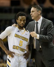 Bryson Langdon scored 17 points in NKU's victory over Midway.