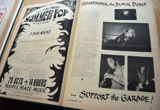A panel discussion on The Independent Eye, a counterculture newspaper printed in Cincinnati from 1968-1975, happens Wednesday night at the main branch of the Public Library of Cincinnati and Hamilton County.