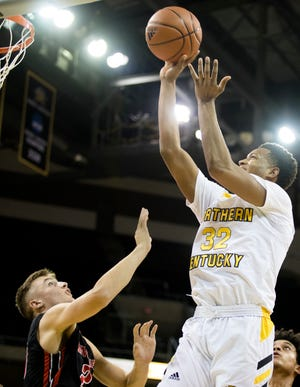 NKU's Dantez Walton scored 24 points and added nine rebounds, four assists and two steals in a win over Coppin State.