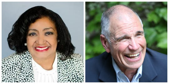 Jacquie Easley and Carl Voss are headed to a runoff election for a Des Moines City COuncil at-large seat.