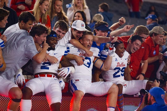 21. SMU (8-1) | Last game: Lost to Memphis, 54-48 | Previous ranking: 14.