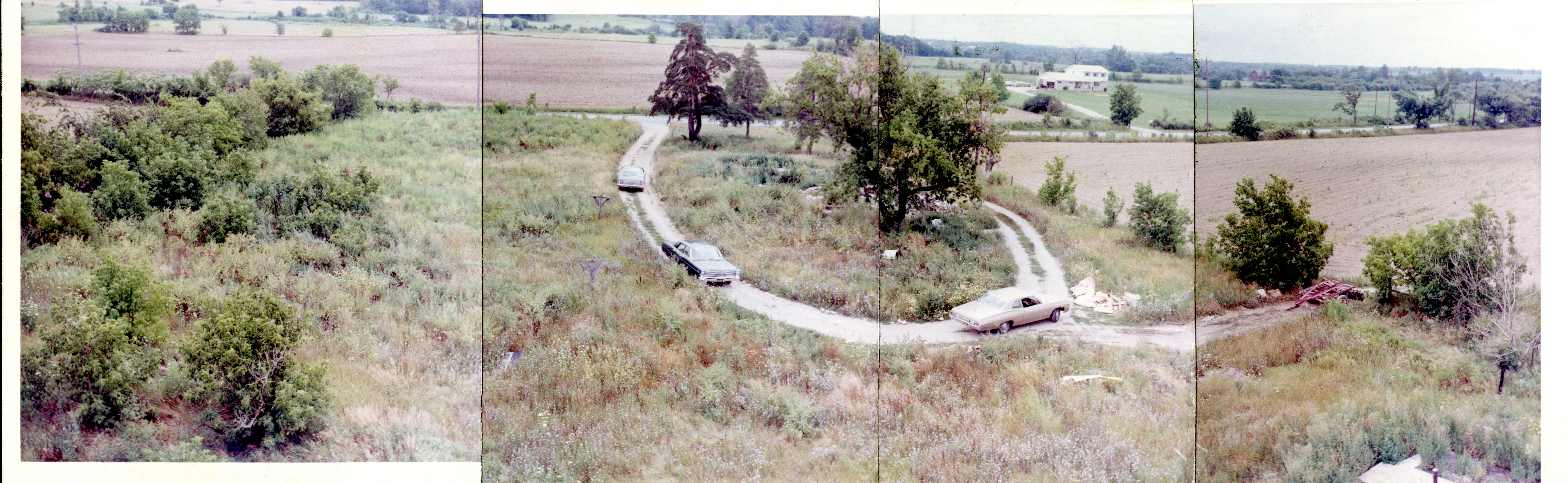 Police stitched together evidence photos from Mary Fleszar's murder case to create a landscape panorama.
