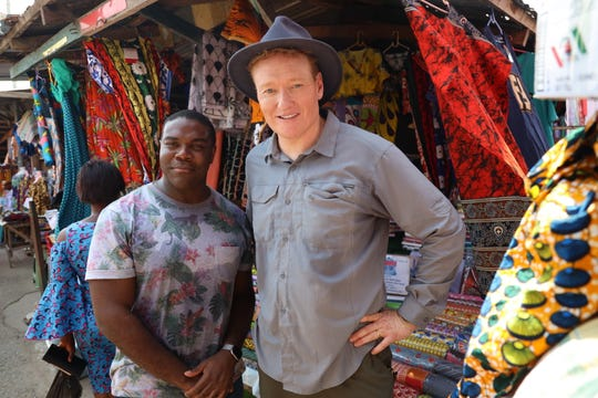 Sam Richardson and Conan O'Brien traveled to Ghana for 'Conan Without Borders: Ghana' special airing Nov. 7, 2019 on TBS
