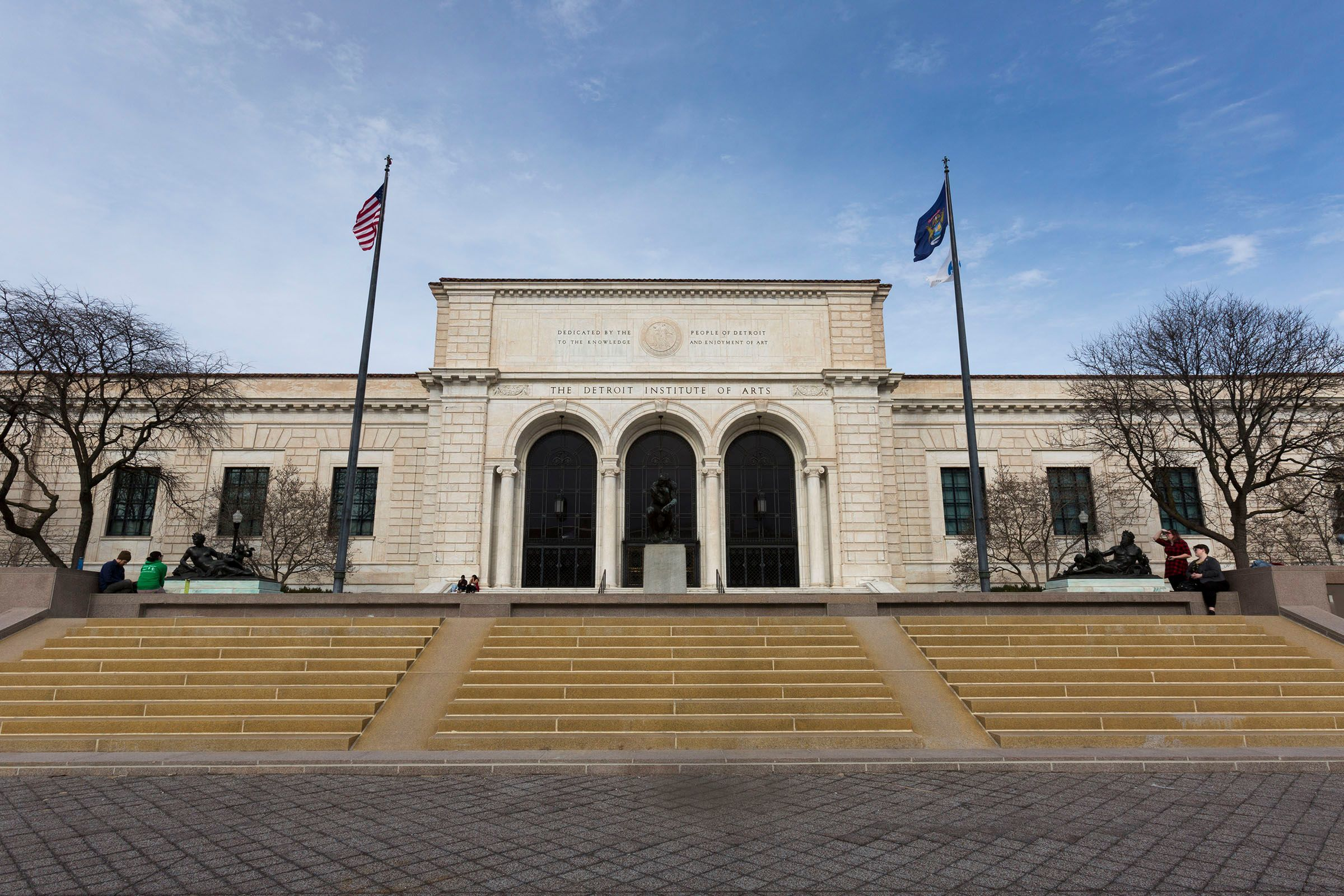 The Detroit Institute of Arts in April 2017 in Detroit.