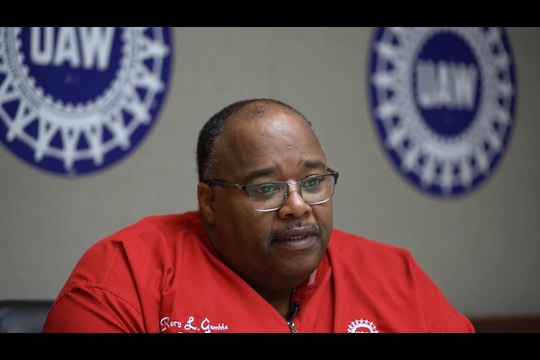 UAW International acting president Rory Gamble speaks to the Detroit Free Press about issues with corruption, negotiations and future of UAW.