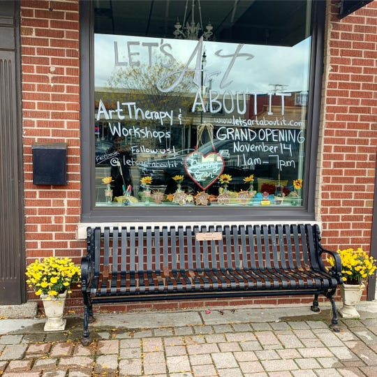 Let's Art About It is on 14 Mile Road in downtown Clawson.