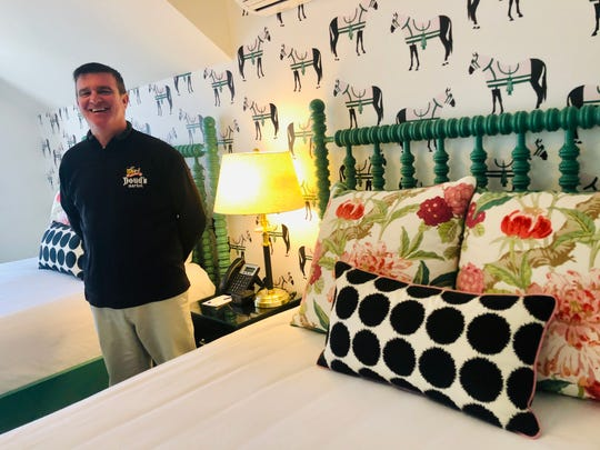 Andrew Doud, a fourth-generation Mackinac Island grocer, is co-owner of The Mackinac House, the island's  new boutique hotel.