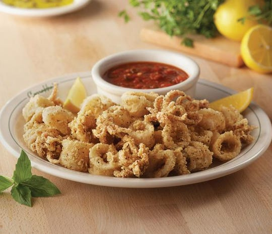 The calamari marinara is one of the free appetizers offered to U.S. military veterans on Veterans Day at Bonefish Grill locations.