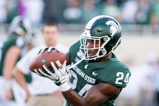 Elijah Collins and Michigan State are host to Illinois on Saturday.