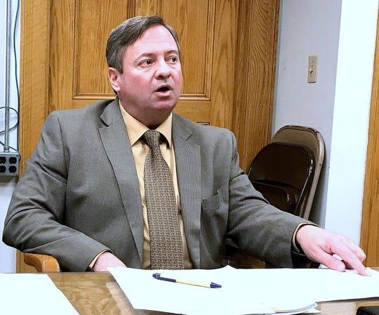 Elmira Mayor Dan Mandell discusses city finances.
