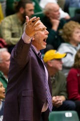 Colorado State University assistant coach Dave Thorson was inducted into the Minnesota Basketball Coaches Association's Hall of Fame in late October.