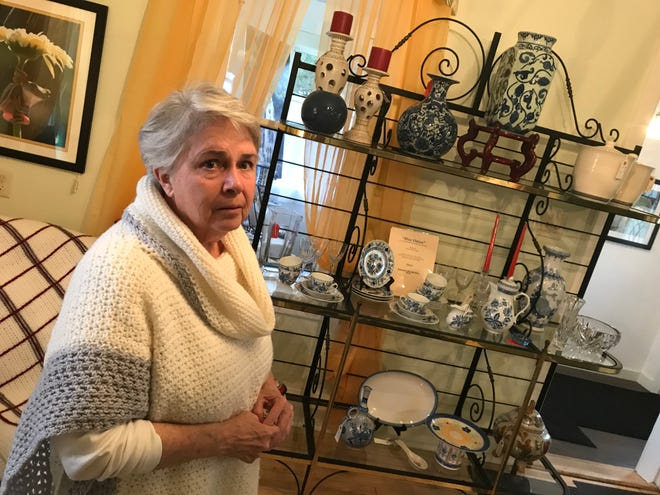 Pat Bell of The Downstairs Attic gallery and gift shop in rural Luxemburg is co-organizer of the Lake to Bay Spring Shop Hop, which has 29 shops and businesses in Kewaunee County and Northeast Wisconsin offering specials and promotions from June 11 to 13.