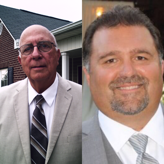 Fountain Inn Councilman Mike Maier (left) will face Jay Thomason in a runoff election on Tuesday, Nov. 19, for the city's Ward 2 council seat.