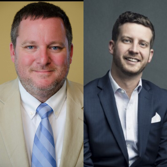 Fountain Inn Mayor Sam Lee (left) will face GP McLeer in a runoff election on Tuesday, Nov. 19, to determine who will be mayor for the next term beginning at the onset of 2020.