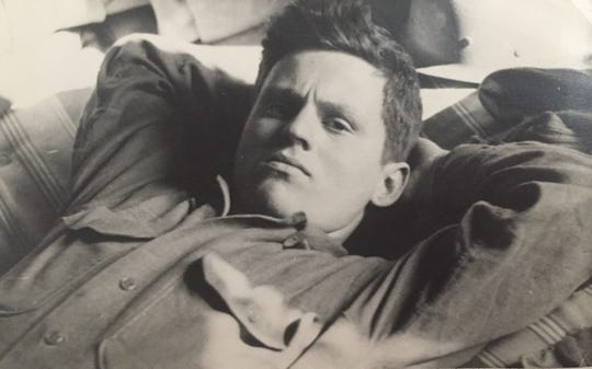 Warren Mack, during World War II.