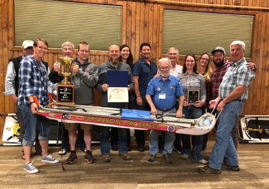 Great Falls Ski Patrol shows awards received in 2019
