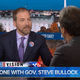 Chuck Todd of MSNBC interviews Gov. Steve Bullock on Tuesday.