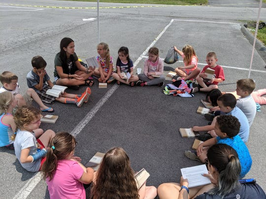 Camp in the Community gives a Bible to each of its summer campers. Now its Bibles - and all its other supplies - are gone. They were in three trailers stolen from a Maryville church parking lot.